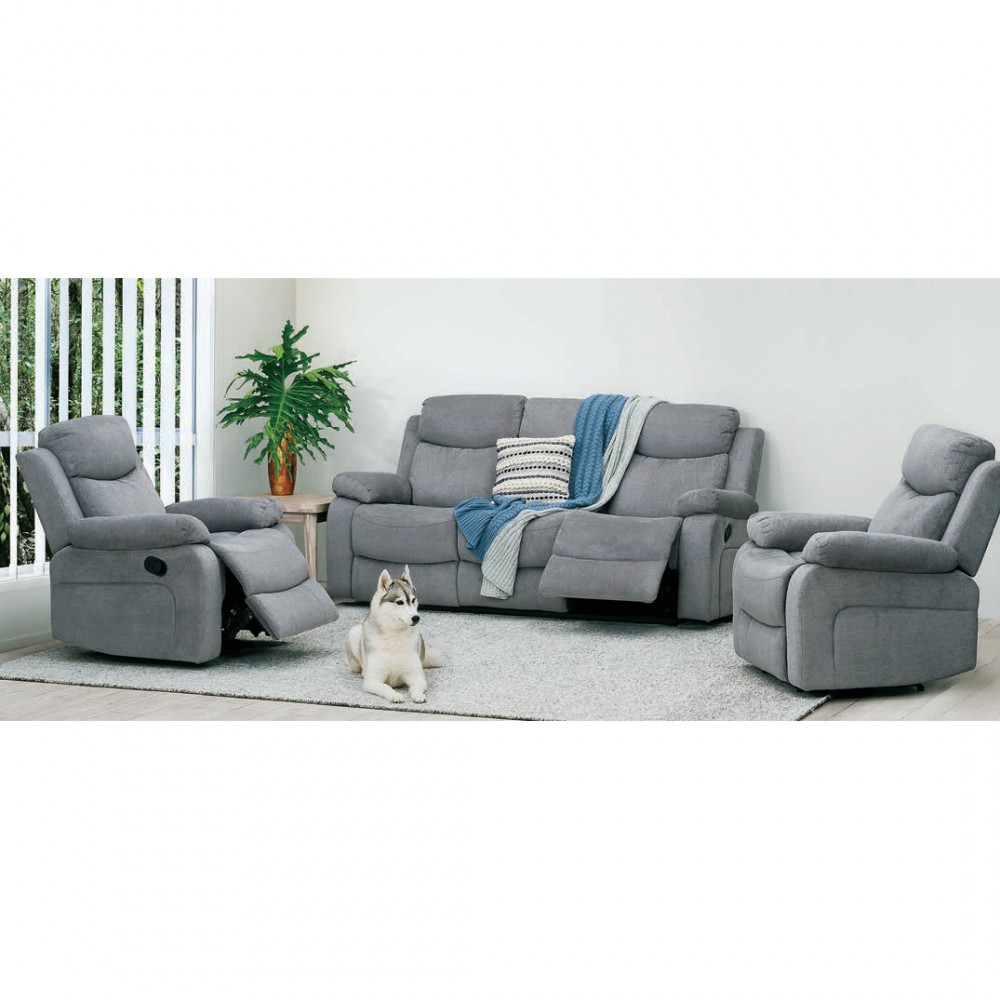Nikson 3 Seater Twin Action