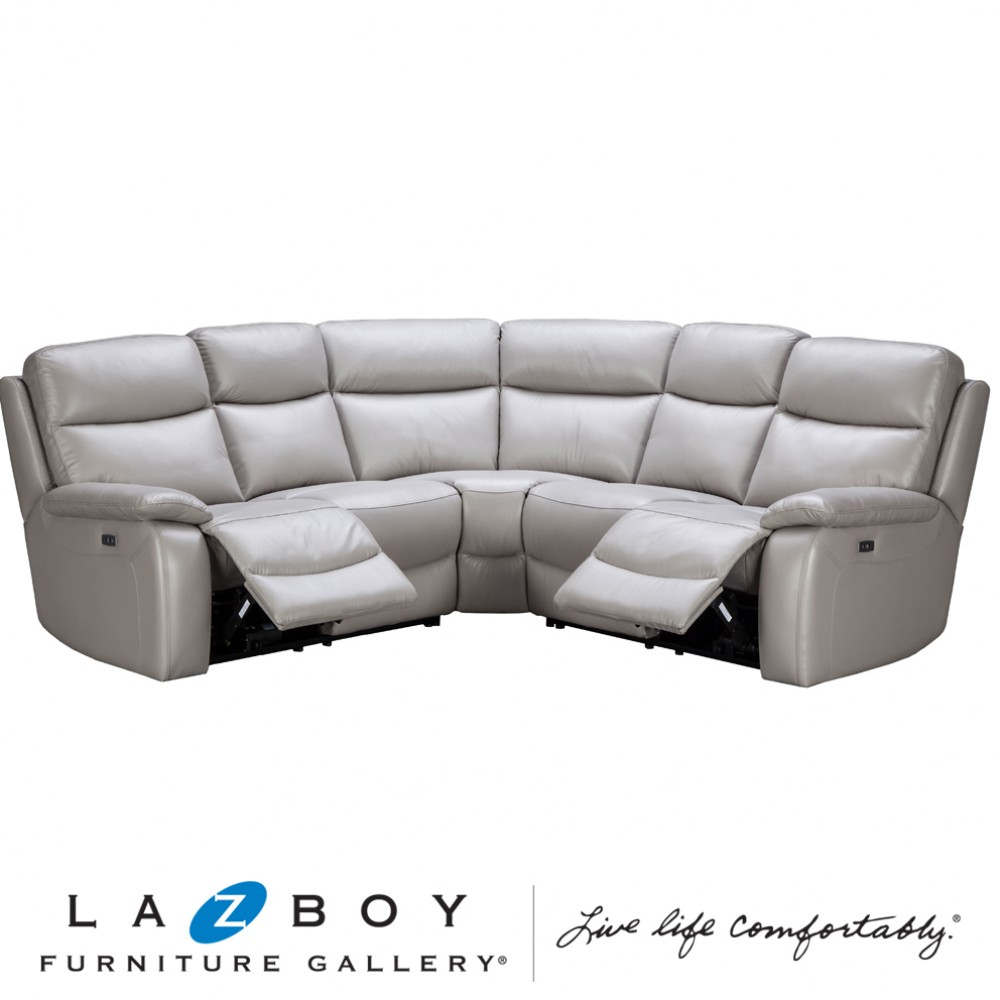 Taylor 3 Piece Modular Corner (Two 2 Seater Twin Power Recliners and Corner)