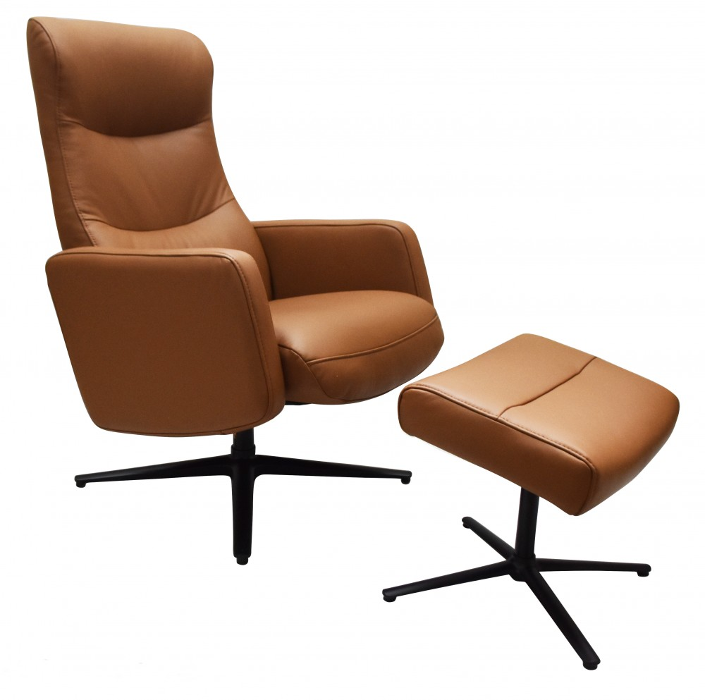 Lacroix Recliner Chair and Footstool