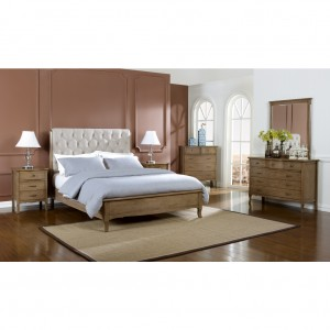 Celeste King Bed Dresser and Mirror Suite