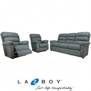 Rapids 3 Piece Lounge Suite (3 Seater and Two Large Rocker Recliners)