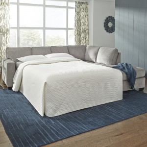 Altari 4 Seater Corner Chaise with Queen Sofa Bed