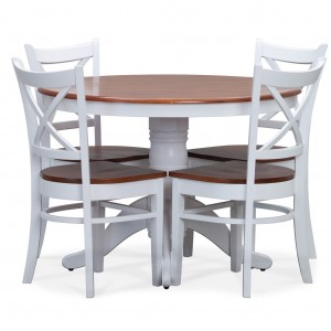 Benowa 2 Tone 5pc Dining Suite