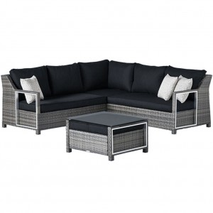 Contempo Corner Outdoor Lounge with Coffee Table