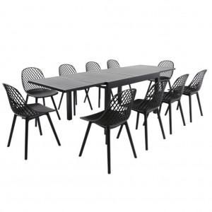 Cosmos Black Extension Table
