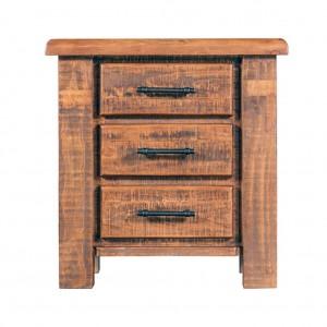 Flinders 3 Drawer Bedside