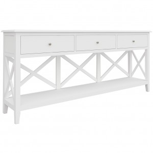 Hampton 3 Drawer Console Table