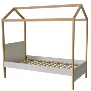 Housey Canopy Single Bed