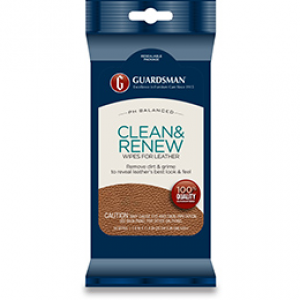 Leather Clean and Renew 20 Wipes