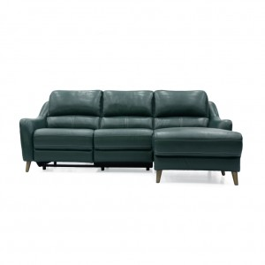 Leo Electric 3 Seater Chaise
