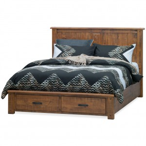 Longyard King Bed With Drawers