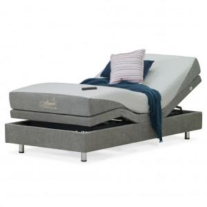 Luxury Flex Gel Long Single Adjustable Bed
