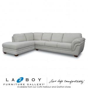 Martelli 2 Piece Corner Modular (2.5 Seater LHF, Chaise with Corner RHF) Fabric Upholstery