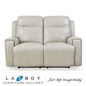United  2.5 Seater Twin Power Recliner With Power Headrest