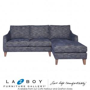 Arna Corner Modular Chaise, Fabric Upholstery