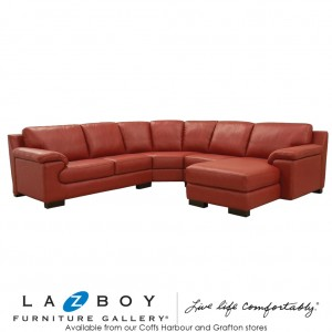 Florence 2 Piece Corner Modular (3 Seater LHF, Chair and Chaise with Corner RHF)