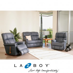 Pinnacle 3 Piece Lounge Suite (2 Seater Twin Recliner and Two Rocker Recliners)