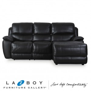 Saxon 2 Piece Modular (2.5 Seater Power Recliner LHF with Corner Chaise RHF)