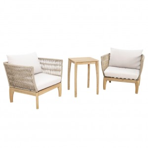 River 3 Piece Outdoor Setting