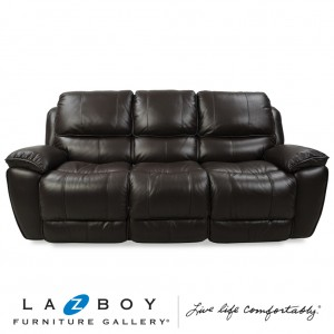 Saxon 3 Seater Twin Power Recliner