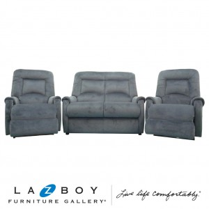 Serenity 3 Piece Lounge Suite (2 Seater and Two Rocker Recliners)