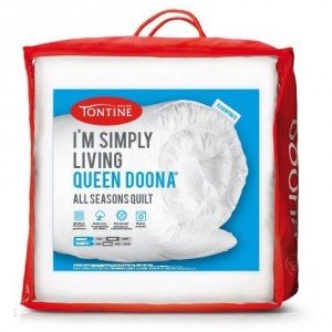 Tontine Single I'm Simply Living Doona