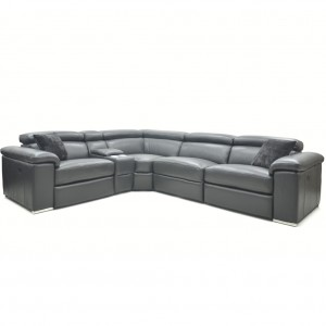 Verona Electric Corner Lounge with Console