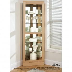 Fallon Corner Display Cabinet