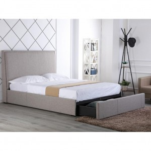 Riley King Bed with drawer