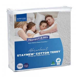 Cotton Terry Mattress Protector - King