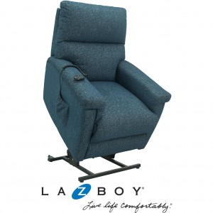 Ethan Platinum Powered Lift Chair (Leather)