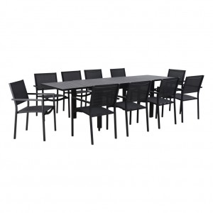 Bentlee 11 Piece Extension Table Setting