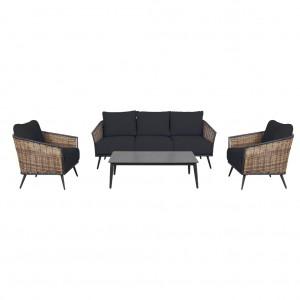 Boulevard 4 Piece Lounge Suite
