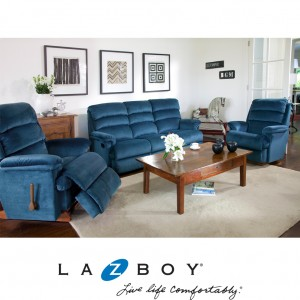 Canyon 3 Piece Recliner Suite (2 Seater and Two Rocker Recliners)