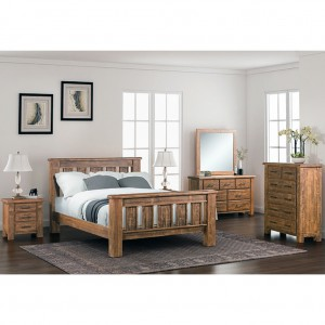 Flinders 6 Drawer Dressing Table and Mirror