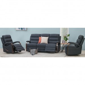 Indiana 3 Piece Lounge Suite (3 seat twin recliner and 2 recliners)