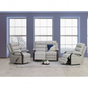 Indiana 3 Piece Lounge Suite (2 seat twin recliner and 2 recliners)