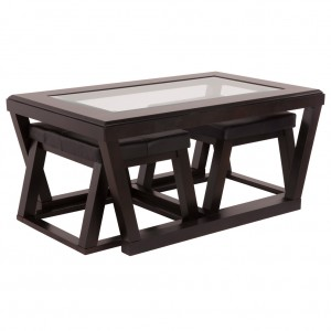 Keltin Cocktail table with stools