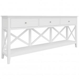 Hampton 3 Drawer Console Table