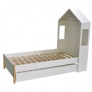Housey Arbor King Single Bed With Drawers