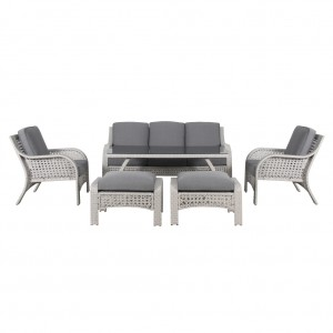 Linda Low 6 Piece Outdoor Dining Setting