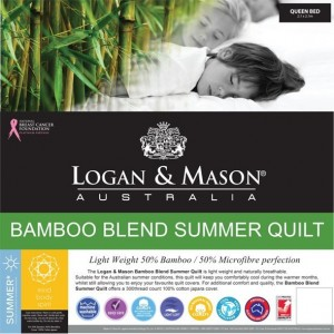Logan & Mason Single Bamboo Quilt