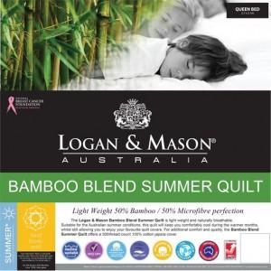 Logan & Mason Queen Bamboo Quilt