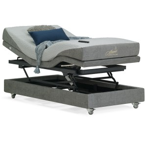 Luxury Flex Gel Hi-Lo Adjustable Bed Long Single