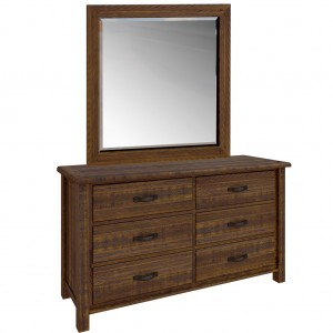 Longyard Dresser & Mirror