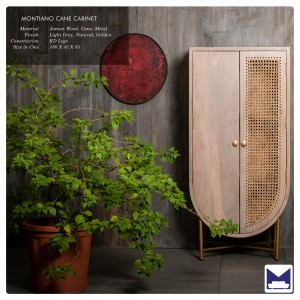 Montiano Cane Cupboard