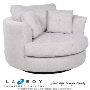 Alva Swivel Armchair