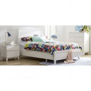 Porto Queen 2 Drawer Bed