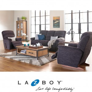 Rapids 3 Piece Lounge Suite (2 Seater and Two Large Rocker Recliners)