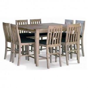 Santa Fe 9pc High Table Dining Suite